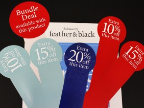 Feather & Black Point of Sale
